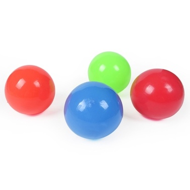 Sticky Balls Stress Relieving Wall Balls Decompression Toys Sticky Target Balls Stick to Wall Stress Balls Pressure Anxiety Relieving for Kids and Adults