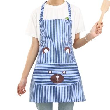 1-Pack Cute Bear Bib Apron
