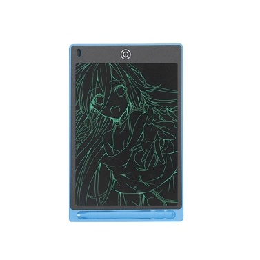 LCD Writing Tablet 8.5in Erasable Reusable Writing Board Children Dust-Free Educational Drawing Pad
