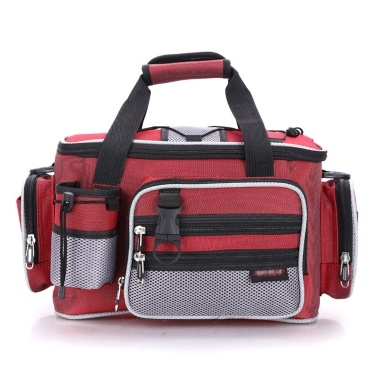 Multifunctional Fishing Sling Bag Fishing Bait Tackle Handbag Spacious Waist Pouch Case for Fishing Accessories