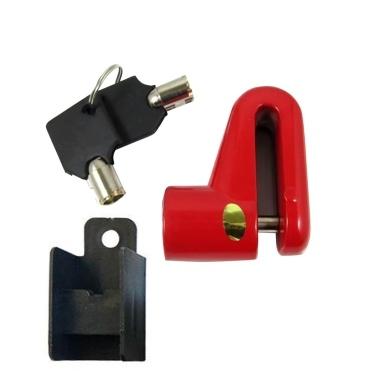 Bicycle Anti-theft Disc Brake Lock Stapler Design 9mm Pin Diameter Anti-Prying for Bike Motorbike Electric Bike Cycling Accessories