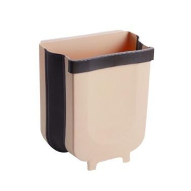 Hängende zusammenklappbare Abfalldose Abfallbehälter Schrank Mülleimer Tragbar Faltbare Wandmontage Faltbar