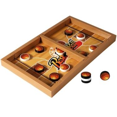 Fast Sling Puck Game Table Desktop Ice Hockey Winner Board Chess Games Foosball Basketball Sticker Family Leisure Fun Toy