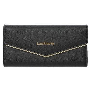2016 Fashion Lady Women Clutch Wallets Bag Popular Purse Long PU Card Coin Holder Case Birthday Gift
