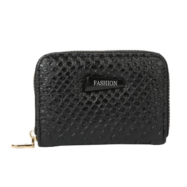 New Fashion Women Card ID Holder PU Leather Solid Color Multiple Card Slots Business Card Holder Card Holder