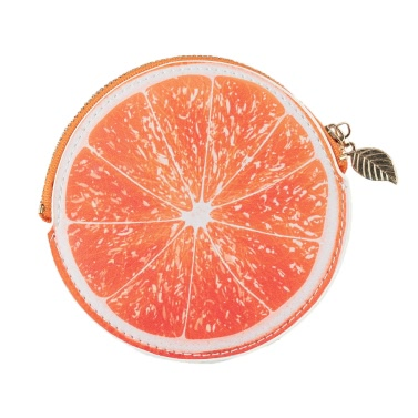 Mode Damengeldbörse orange Muster-Druck PU-Leder-Süßigkeit-Farben-Mappen-Orange / Gelb / Grün