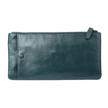 Fashion Men Wallet Geldklammer Leder lange Kupplungs Geschäfts-Kreditkarte Bargeld-Halter-Kasten-Geldbeutel