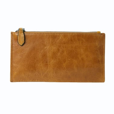 New Men Long Wallet Clip Money High Quality Leather Cash Credit Card Holder Business Thin Purse