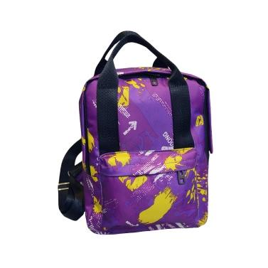 Art und Weise kühle Frauen Rucksack Camouflage-Druck Bunte Kinder Schulranzen Reisetasche