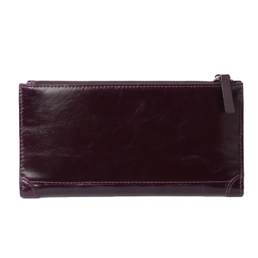 New Fashion Men Wallet Money Clip High Quality Leather Long Business Credit Card Cash Holder Wallets