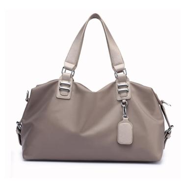 Frauen Handtasche Nylon Wasserdichte Solide Große Kapazität Multifunktions Casual Outdoor Sport Tote Wochenende Reisetasche