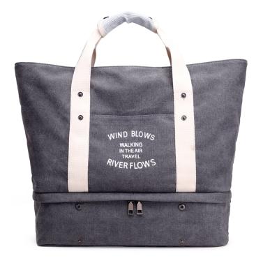 Frauen-Segeltuch-Handtaschen-Schulter-Beutel-große Kapazitäts-beiläufige Tote