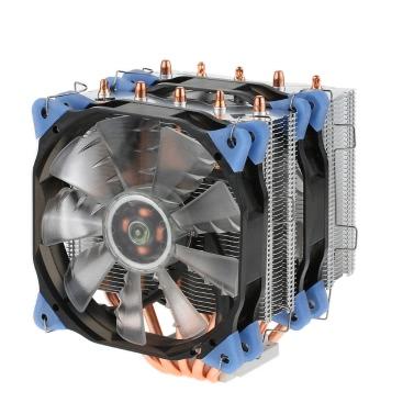 VTG 5 Heatpipe Kühler 4pin CPU Kühler Lüfterkühlung 5 Direktkontakt Heatpipes mit 120mm Lüfter für Desktop Computer