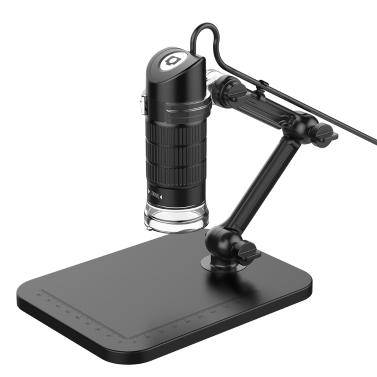 Tragbare USB2.0 Digital Mikroskop 500X Elektronische Endoskop 8 LED 2 Millionen Pixel Practic Lupe Mikroskop Kamera Schwarz