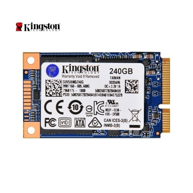 Kingston UV500 SUV500MS / 480G MSATA SSD Interner Festplattenlaufwerk Festplatte