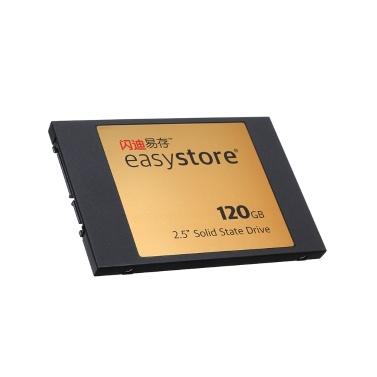 41% de réduction sur le disque dur SSD Sandisk à disque dur interne 2,5 pouces SATA Revision 3.0 120 Go pour ordinateur de bureau portable seulement 28,22 € sur tomtop.com + livraison gratuite