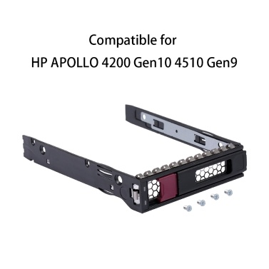 3.5inch Hard Drive Tray HDD Caddy for HP APOLLO 4200 Gen10 4510 Gen9