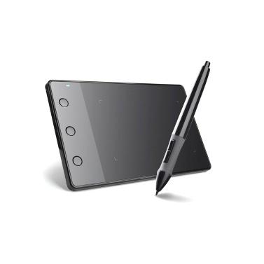 Huion H420 Professional Graphics Drawing Tablet with 3 Shortcut Keys 2048 Levels Pressure Sensitivity 4000LPI Pen Resolution