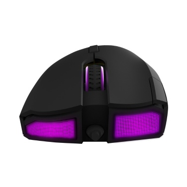 Delux M625 Wired Gaming Mouse 7 Programmable Buttons Ergonomic Mouse with A3050 Sensor 4000 DPI RGB Backlight Light Effect