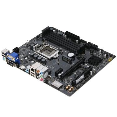 Onda B150U-D4 Motherboard Mainboard Systemboard für Intel B150 / LGA 1151 Dual Channel DDR4 SATA3 USB3.0 mATX für Desktop-