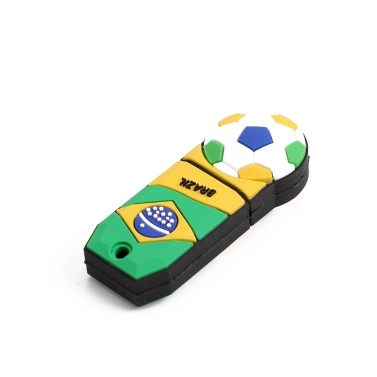 Football Pattern 32GB USB 2.0 Flash Memory U Disk for Computer
