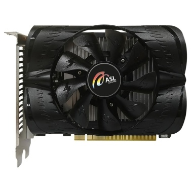 ASL GeForceu00ae GT 1030 2G D5 Graphics Card NVIDIA GP108 6008MHZ GDDR5 2GB 64bit 384units Shaders 16nm DirectX 12 HD Interface+DVI Video Card Gaming