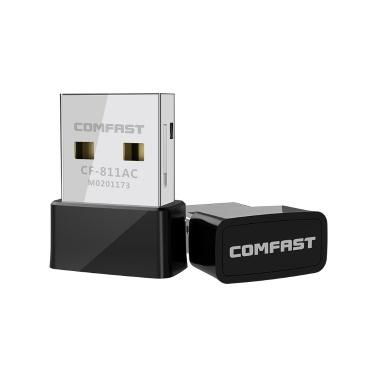 COMFAST Wireless Dual Band Portable WLAN 650 Mbps USB-Netzwerkkarte für Windows / Mac