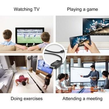 High-Definition-Multimedia-Schnittstellenkabel Digitales High-Definition-Datenkabel 4K @ 60Hz Laptop-TV LCD-Monitor TV-Box-Kabel 1,5M
