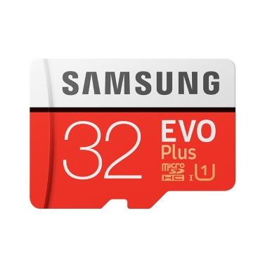 Samsung Memory 32GB EVO Plus MicroSDHC 80MB/s U1 Class 10 TF Flash Memory Card