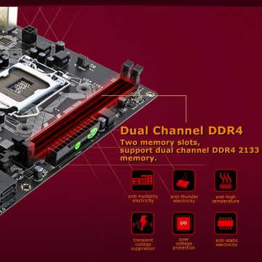 Colorful Warrior C.H110M-K V20A Motherboard Mainboard Systemboard for Intel LGA 1151 DDR4 SATA3 USB3.0 mATX PCI-E 3.0 for Desktop