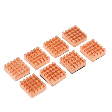 PCCOOLER Cooling Copper Heatsink Cooler für VGA GPU DDR DDR2 DDR3 DDR4 RAM Speicher IC Chipsatz Kühlung 8pcs / Set