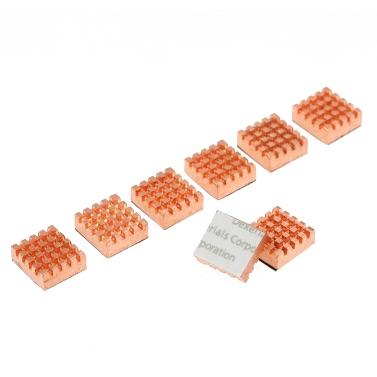 PCCOOLER Cooling Copper Heatsink Cooler for VGA GPU DDR DDR2 DDR3 DDR4 RAM Memory IC Chipset Cooling 8pcs/Set