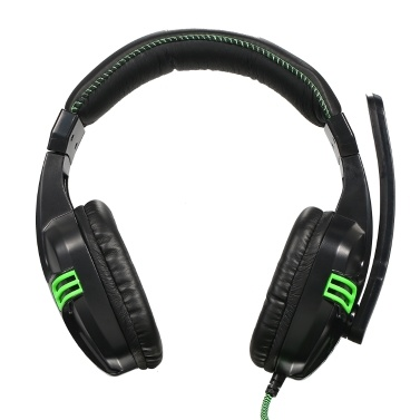 Salar KX101 3.5mm Wired Gaming Headset HiFi Deep Bass Headphone with Microphone