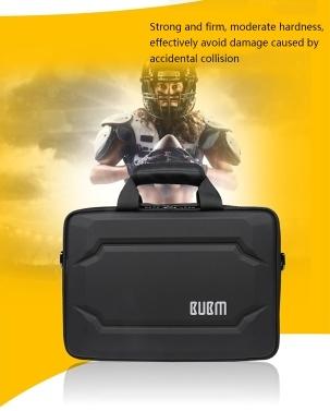 BUBM Double Layer Laptop Bag 13 Inch Notebook Shoulder Handbag