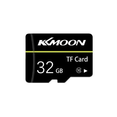 KKmoon Micro SD-Karte TF-Flash-Speicherkarte 32 GB Class 10 Fast Speed (Schwarz)