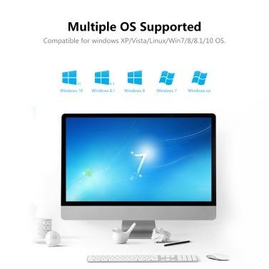 Mini USB WLAN Router Adapter Netzwerk LAN Karte Sender Empfänger Plug & Play für Windows XP / Vista / Linux