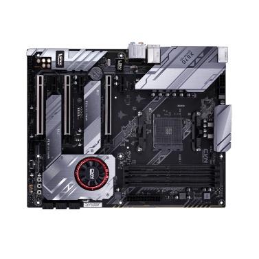Bunte CVN X570 GAMING PRO V14 Hauptplatine Hauptplatine Systemplatine Mehrfachschutz AMD AM4 Ryzen 2000 und 3000 Prozessor Dual Turbo M.2 Steckplätze PCI-E 4.0X16 Steckplätze ALC1150 HD Audio RGB Light