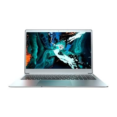T-bao X9 15,6 '' Ultradünner Laptop 1080P IPS-Bildschirm J4115 8 GB Speicher 128 GB tragbarer SSD-Computer für Office-Spiele EU-Stecker