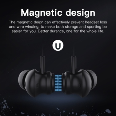 Bluedio Li pro Kabelgebundener Kopfhörer In-Ear-Kopfhörer 7.1-Kanal HiFi-Stereo-Kopfhörer Sport-Kopfhörer für PC Laptop-Mikrofon Schwarz