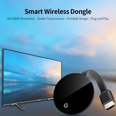 Wireless Dongle WiFi-Display Dongle HD 1080P Wireless Screen Converter-Unterstützung Airplay / Miracast / DLNA Google Chrome