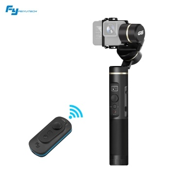 Support WiFi + BT Connection OLED Screen with Smart Remote Controller for GoPro Hero 6 5 4 RX0 and Other Action Cameras of Similar Size