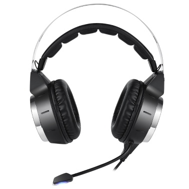 Lenovo HS25 Wired Gaming Headset Virtual 7.1 Channel Surround Sound with High Sensitivity Noise Reduction Microphone RGB Effect