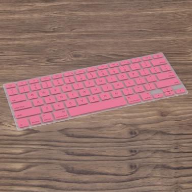 """Silikon ultradünne Tastatur Schutzfolie Abdeckungs-Haut US-Layout für MacBook Pro 15.4 """"Retina"""