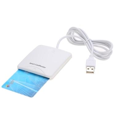 Sunshine-tipway STW USB 2.0 Smart Card Reader ID/EMV Bank/SIM Card Adapter Compatible For Windows 98/me/2000/XP/Vista/Win 7(32/64bit)/Mac OS X