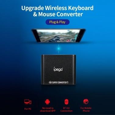 Ipega PG-9116 Upgrade Wireless BT 4.0 Tastatur- und Mauskonverteradapter für Game Controller Plug & Play