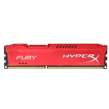 Kingston HyperX FURY 4GB 1866MHz DDR3 CL10 DIMM 1.5V Desktop Gamiing Speicher RAM Rot