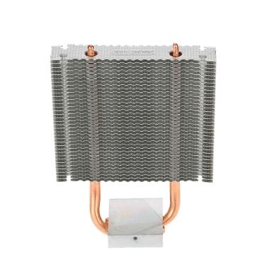 PCCOOLER HB-802 2 Heatpipes Radiator Aluminum Heatsink Motherboard/Northbridge Cooler Southbridge Cooling Support 80mm Cooling Fan for Desktop Computer