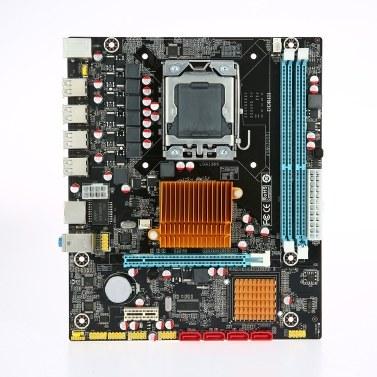 Runing X58V310S1 Motherboard MATX Motherboard 1366 Processor 2 DIMM Slots DDR3 Memory 32GB Memory Capacity
