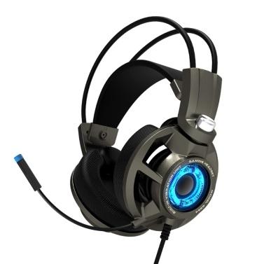 SOMIC G954 Game Earphone Vibration E-Sports Headphone 7.1 Sound Effect Led Breathing Light