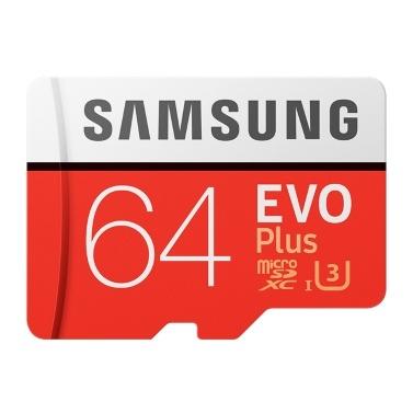 Cartão de memória Samsung EVO PLUS U3 Micro SD SDHC adaptador classe 10 SD Card 256 GB 128 GB 64 GB 32 GB